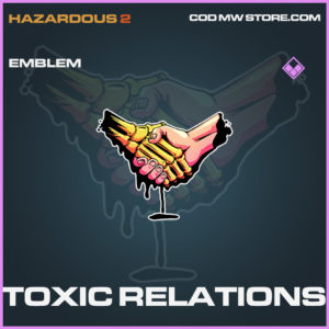Toxic Relations emblem epic call of duty modern warfare warzone item