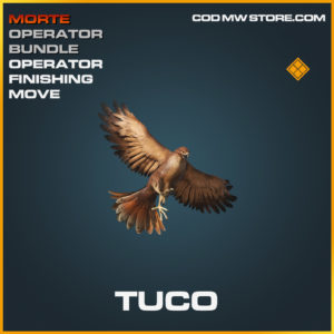 Tuco Operator Finishing Move legendary call of duty modern warfare warzone item