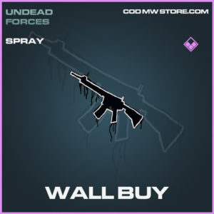 Wall BUy Spray epic call of duty modern warfare warzone item