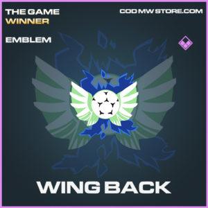 Wing Back emblem epic call of duty modern warfare warzone item