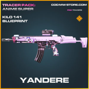 Yandere Kilo 141 legendary skin call of duty modern warfare warzone item