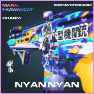 Nyan Nyan charm epic call of duty modern warfare warzone item