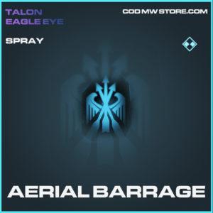 Aerial Barrage spray rare call of duty modern warfare warzone item
