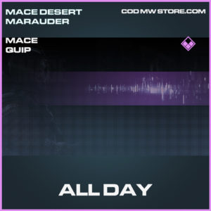 All Day mace quip epic call of duty modern warfare warzone item