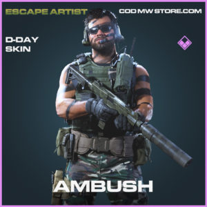 Ambush D-Day Skin epic call of duty modern warfare warzone item