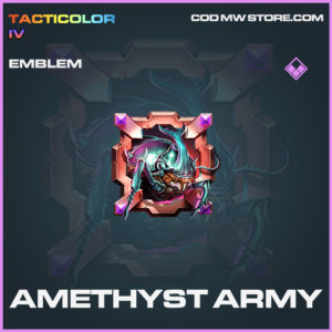 Amethyst Army emblem epic call of duty modern warfare warzone item