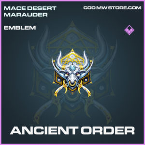 Ancient Order emblem epic call of duty modern warfare warzone item