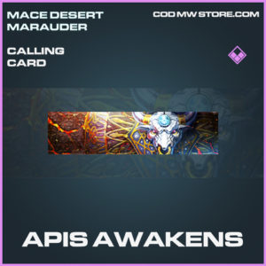 Apis Awakens calling card epic call of duty modern warfare warzone item