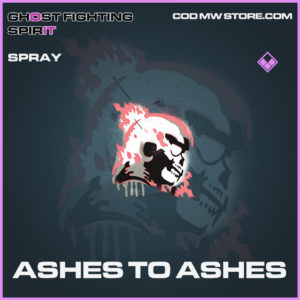 Ashes to Ashes spray epic call of duty modern warfare warzone item