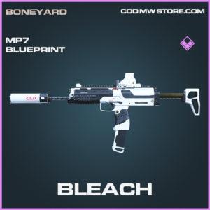 Bleach MP7 Skin epic blueprint call of duty modern warfare warzone item