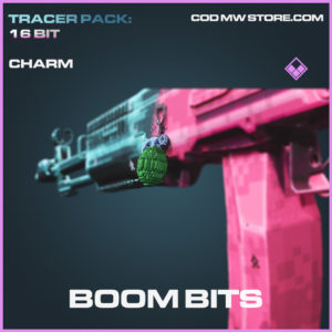 Boom Bits charm epic call of duty modern warfare warzone item