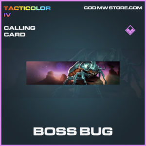 Boss Bug calling card call of duty modern warfare warzone item