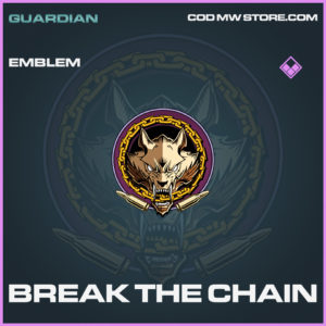 Break the chain emblem epic call of duty modern warfare warzone item