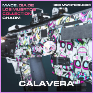 Calavera charm call of duty modern warfare warzone item