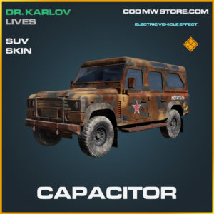 Capacitor SUV Skin call of duty modern warfare warzone item
