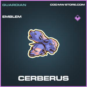 Cerberus emblem epic call of duty modern warfare warzone item