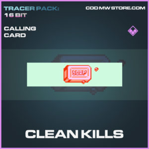 Clean Kills calling card epic call of duty modern warfare warzone item