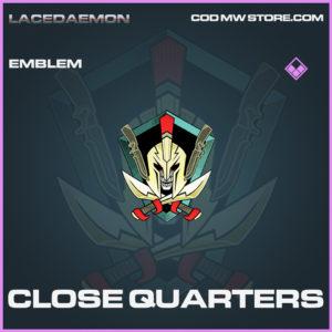 Close Quarters emblem epic call of duty modern warfare warzone item