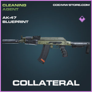 Collateral Ak-47 skin epic blueprint call of duty modern warfare warzone item