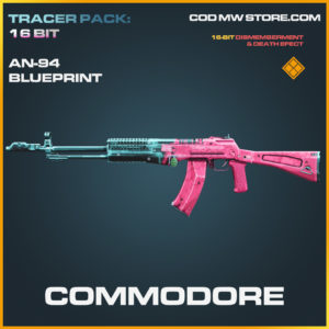 Commodore AN-94 skin legendary blueprint call of duty modern warfare warzone item