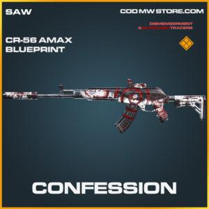 Confessions CR-56 AMAX skin legendary call of duty modern warfare warzone item