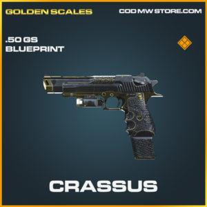 Crassus .50GS skin legendary blueprint call of duty modern warfare warzone item