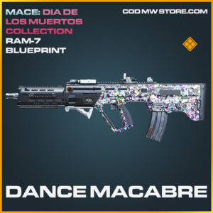 Dance Macabre RAM-7 skin legendary blueprint call of duty modern warfare warzone item