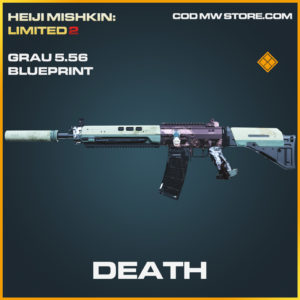 Death Grau 5.56 skin legendary blueprint call of duty modern warfare warzone item
