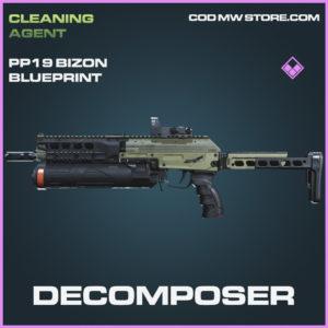 Decomposer PP19 Bizon skin epic blueprint call of duty modern warfare warzone item