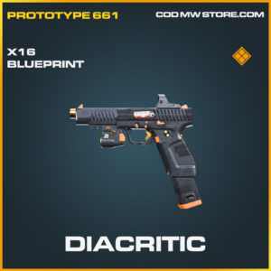 Diacritic X16 skin legendary blueprint call of duty modern warfare warzone
