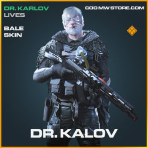 Dr. Kalov Bale skin legendary call of duty modern warfare warzone item