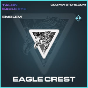 Eagle Crest emblem rare call of duty modern warfare warzone item
