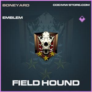 Field Hound emblem epic call of duty modern warfare warzone item