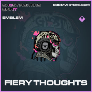 Fiery Thoughts emblem epic call of duty modern warfare warzone item