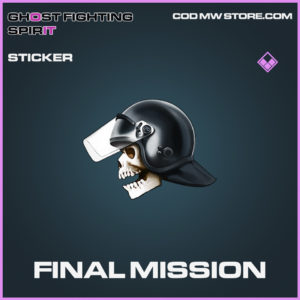 Final Mission sticker epic call of duty modern warfare warzone item