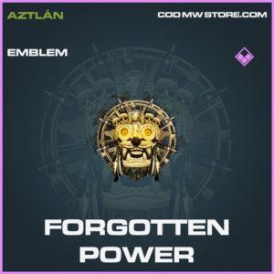 Forgotten Power emblem call of duty modern warfare warzone item