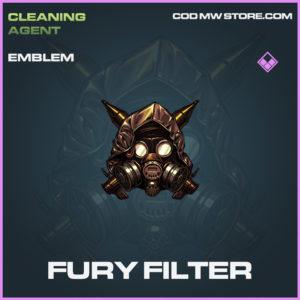 Fury Filter Emblem call of duty modern warfare warzone item