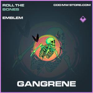 Gangrene emblem call of duty modern warfare warzone item
