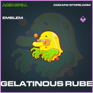 Gelatinous Rube emblem epic call of duty modern warfare warzone item