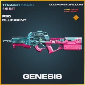 Genesis P90 skin legendary blueprint call of duty modern warfare warzone item