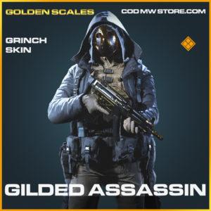Gilded Assassin grinch skin legendary call of duty modern warfare warzone item