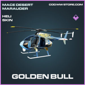 Golden Bull Heli Skin epic call of duty modern warfare warzone item