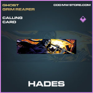 Hades Calling card call of duty modern warfare warzone item