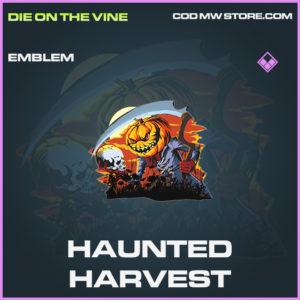 Haunted Harvest Emblem call of duty modern warfare warzone item