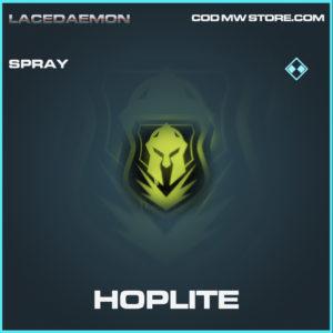 Hoplite spray rare call of duty modern warfare warzone item