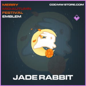 Jade Rabbit emblem epic call of duty modern warfare warzone item