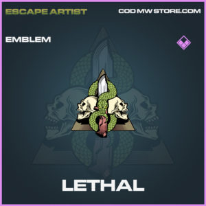 Lethal emblem epic call of duty modern warfare warzone item