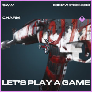 Let's Play A Game charm epic call of duty modern warfare warzone item