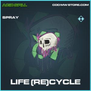 Life (Re)cycle spray rare call of duty modern warfare warzone item