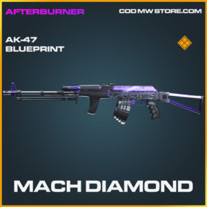 Mach Diamond ak-47 skin legendary blueprint call of duty modern warfare warzone item